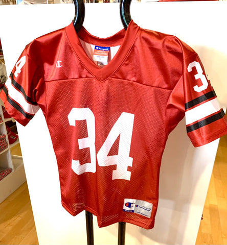 UGA Herschel Walker Champion #34 Youth Football Jersey