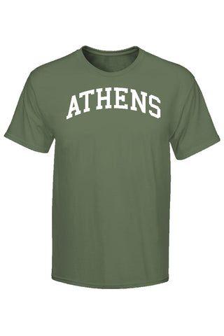 Athens, Ga Comfort Colors T-Shirt - Hemp