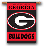 UGA House Banner Flag