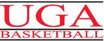 UGA Georgia Bulldogs Bar Basketball Sticker