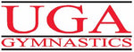 UGA Georgia Bulldogs Bar Gymnastics Sticker