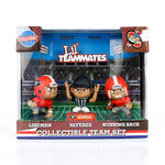 UGA Georgia Bulldogs Lil' Teammates Collectable Action Figures - Set of 3