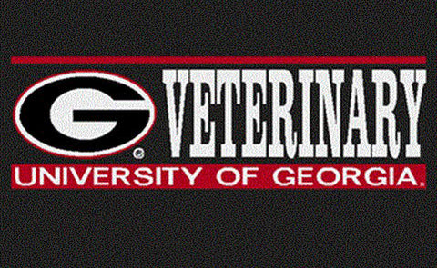 UGA Georgia Bulldogs Veterinary Decal