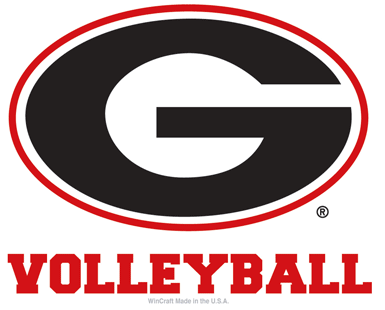 UGA Georgia Bulldogs Wincraft Volleyball Decal