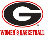 UGA Georgia Bulldogs Wincraft Women's Basketball Decal