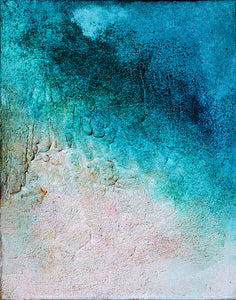 THALASOPHILES DIARIES  2 (ORIGINAL SOLD. GICLEE PRINT AVAILABLE)