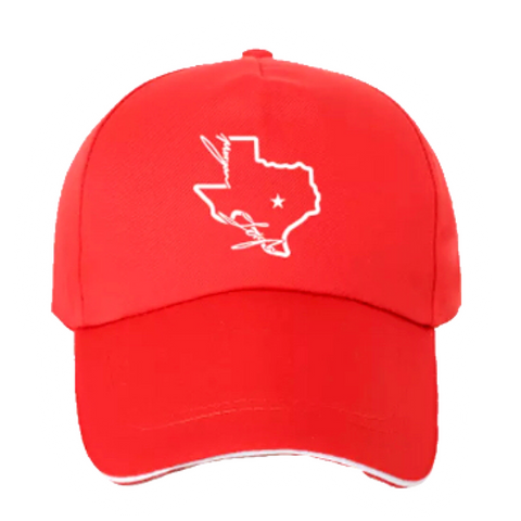 Texas Morgan Leigh Hat - RED