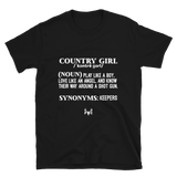 Define Country Girl: T-Shirt
