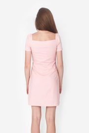 Cadence Mini Dress (Daisy Pink)