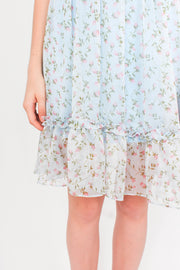 Transcend Mini Dress (Sky Blue)