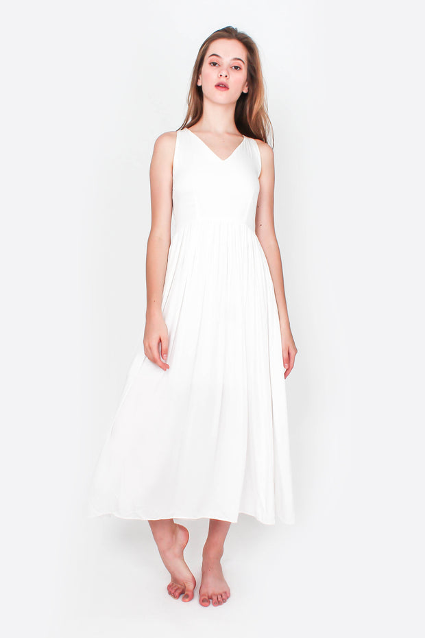Odyssey Maxi Dress (White)
