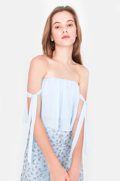 Venture Crop Top (Sky Blue)