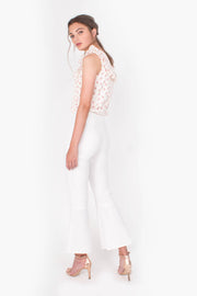 Faith Ruffles Top (White)