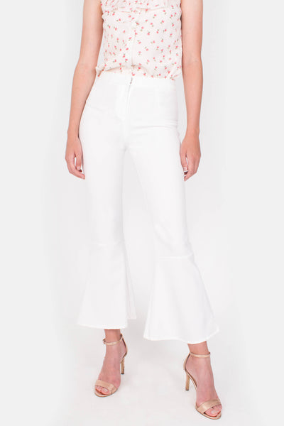 Hope Bell Pants (White)