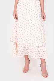 Credence Maxi Dress (White)
