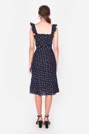 Sanguine Midi Dress (Navy)