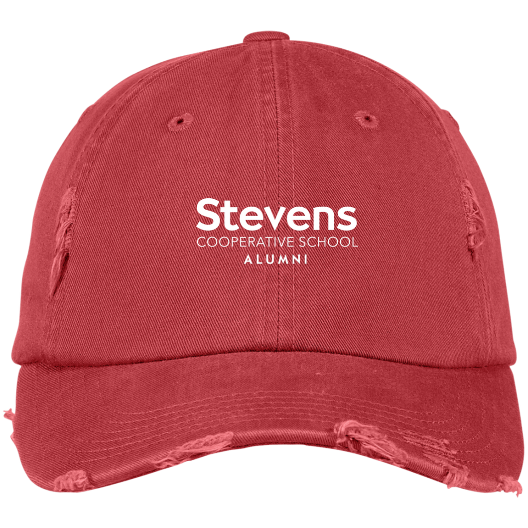 Stevens Alumni Distressed Cap