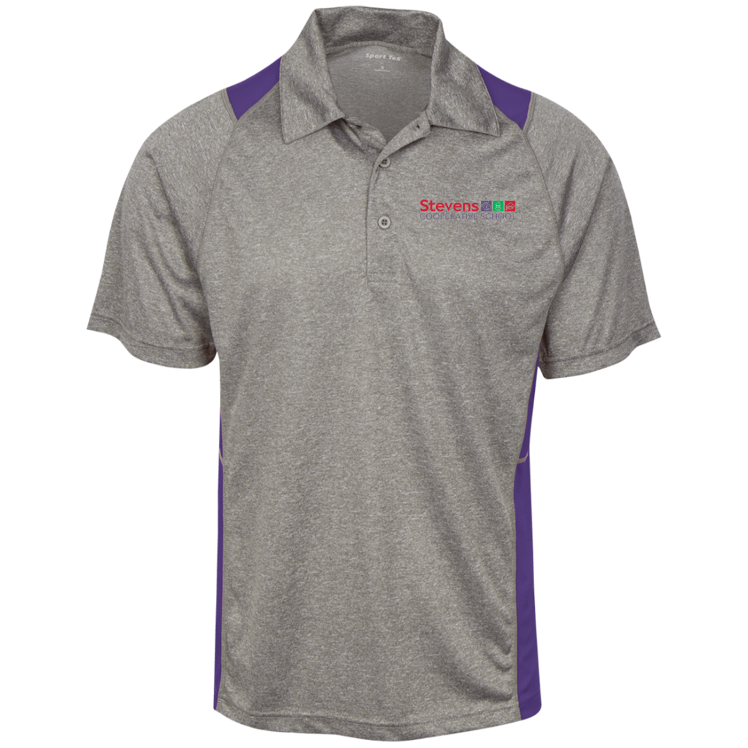 Adult Heather Moisture Wicking Polo