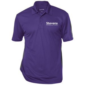 Adult Performance Textured Three-Button Polo