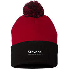 Load image into Gallery viewer, Pom Pom Knit Cap (available in 3 colors)