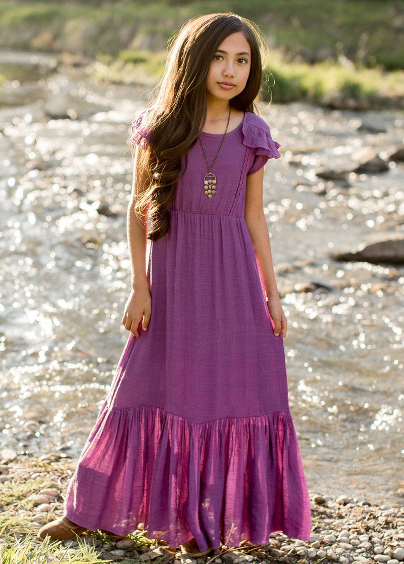 *NEW* Abigail Dress in Amethyst