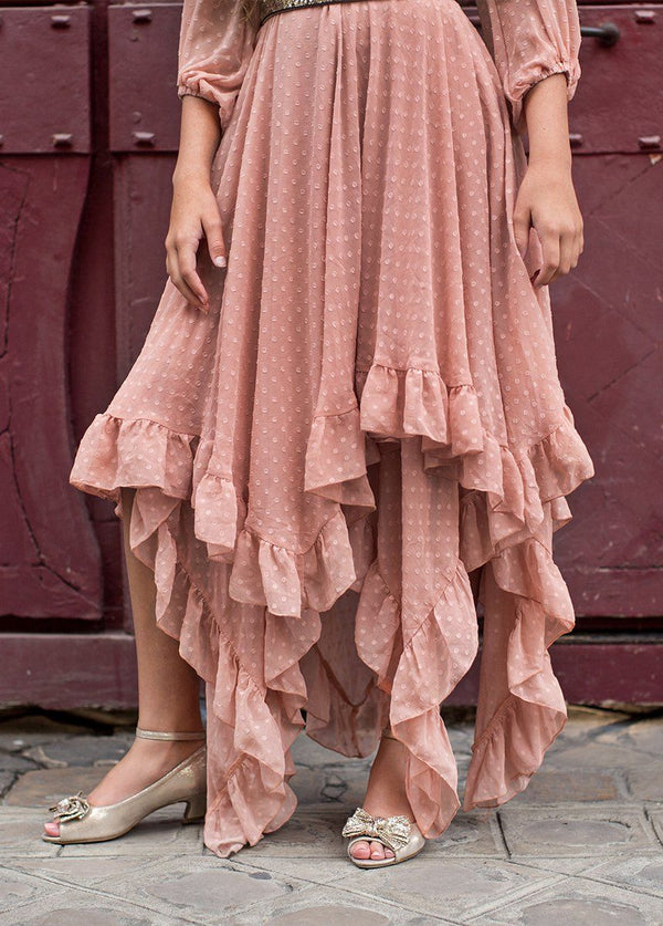 *NEW* Abrielle Dress in Misty Rose