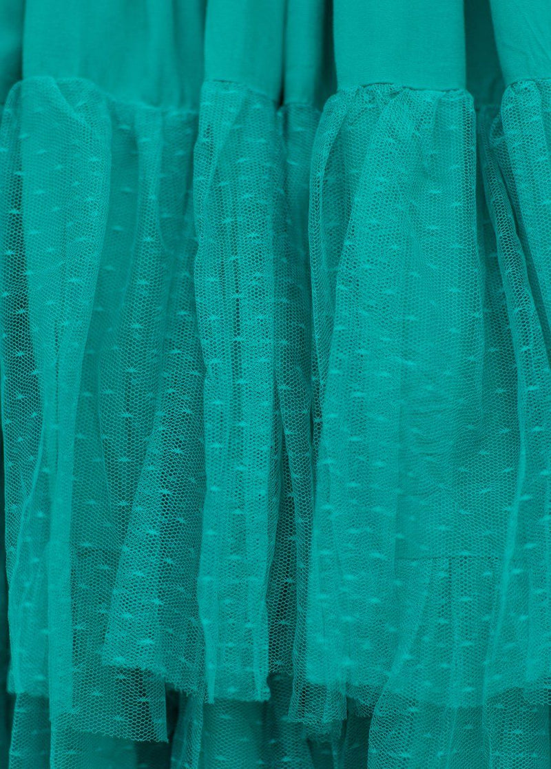 Ada Skirt in Teal
