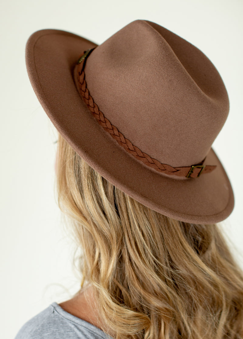 *SOLD OUT* Adelyn Hat in Brown