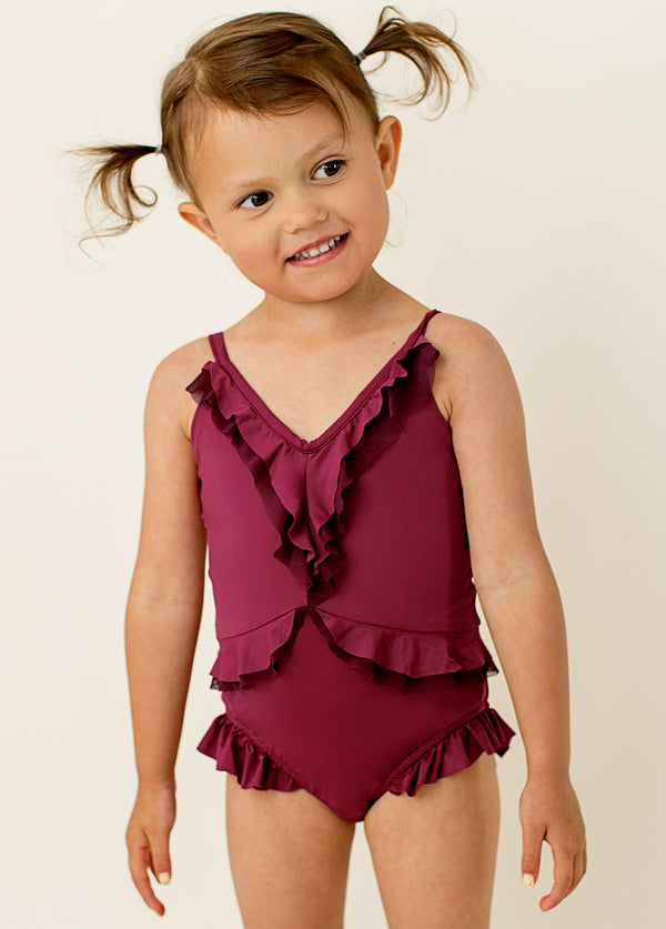*NEW* Alessandra Swimsuit in Raspberry