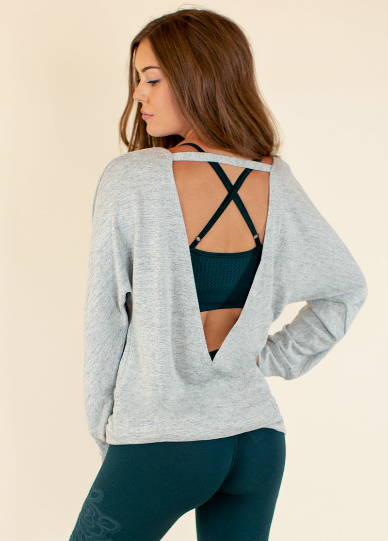 *NEW* Allison Top in Gray
