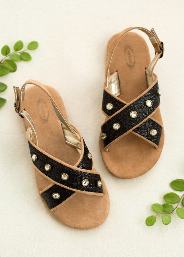 *NEW* Amara Sandals in Black