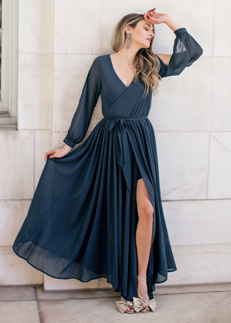 *NEW* Aniya Dress in Midnight