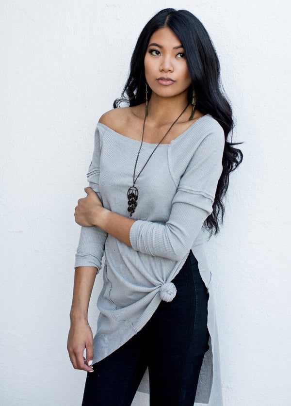 *NEW* Aspen Tunic in Silver