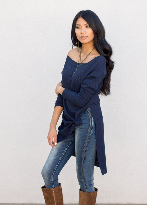 *NEW* Aspen Tunic in Navy