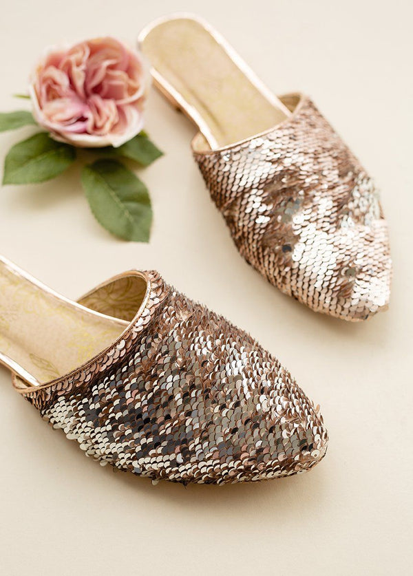 *NEW* Audra Flat in Rose Gold