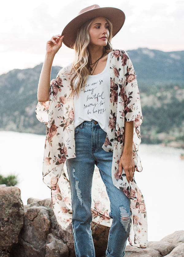*NEW* Women's Avalon Duster in Floral