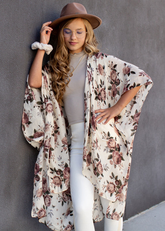 Avalon Duster in Floral