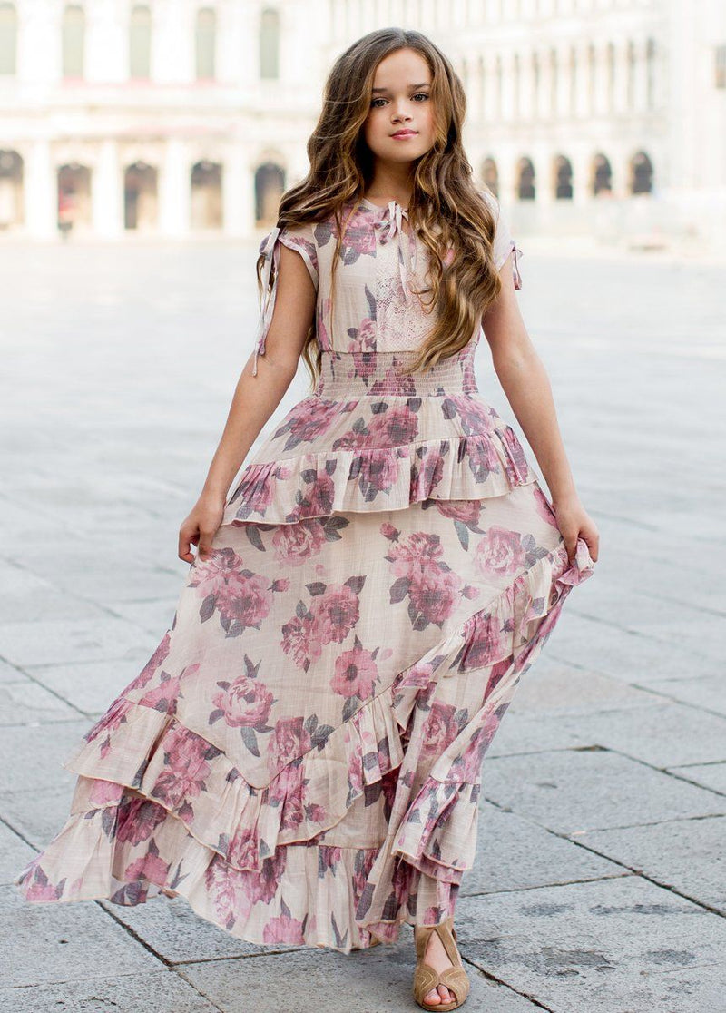 *NEW* Avery Maxi Dress in Greta Floral