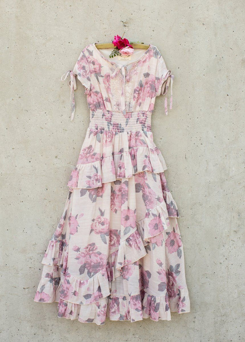Avery Maxi Dress in Greta Floral
