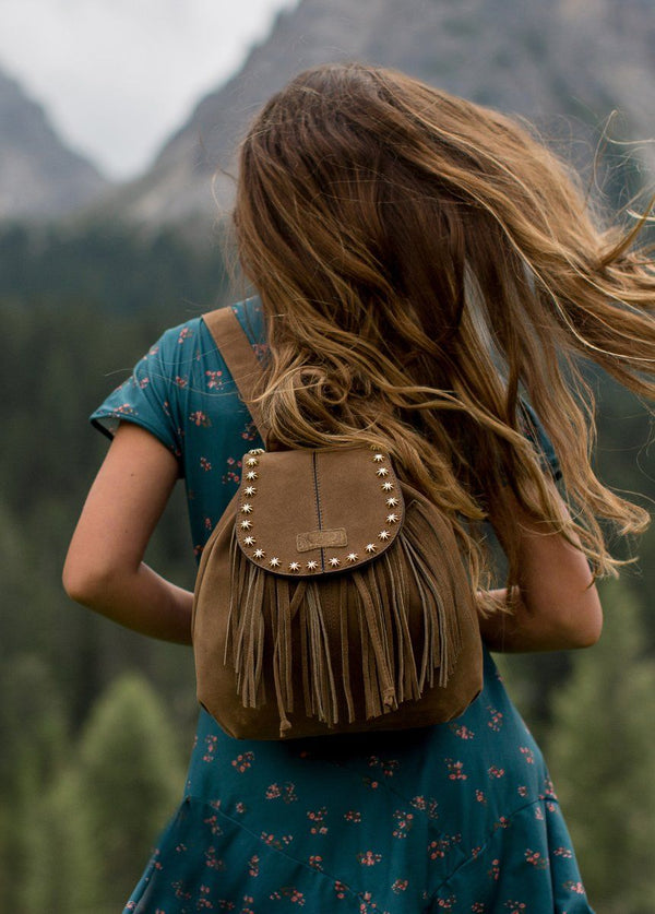 Phoenix Backpack in Mocha