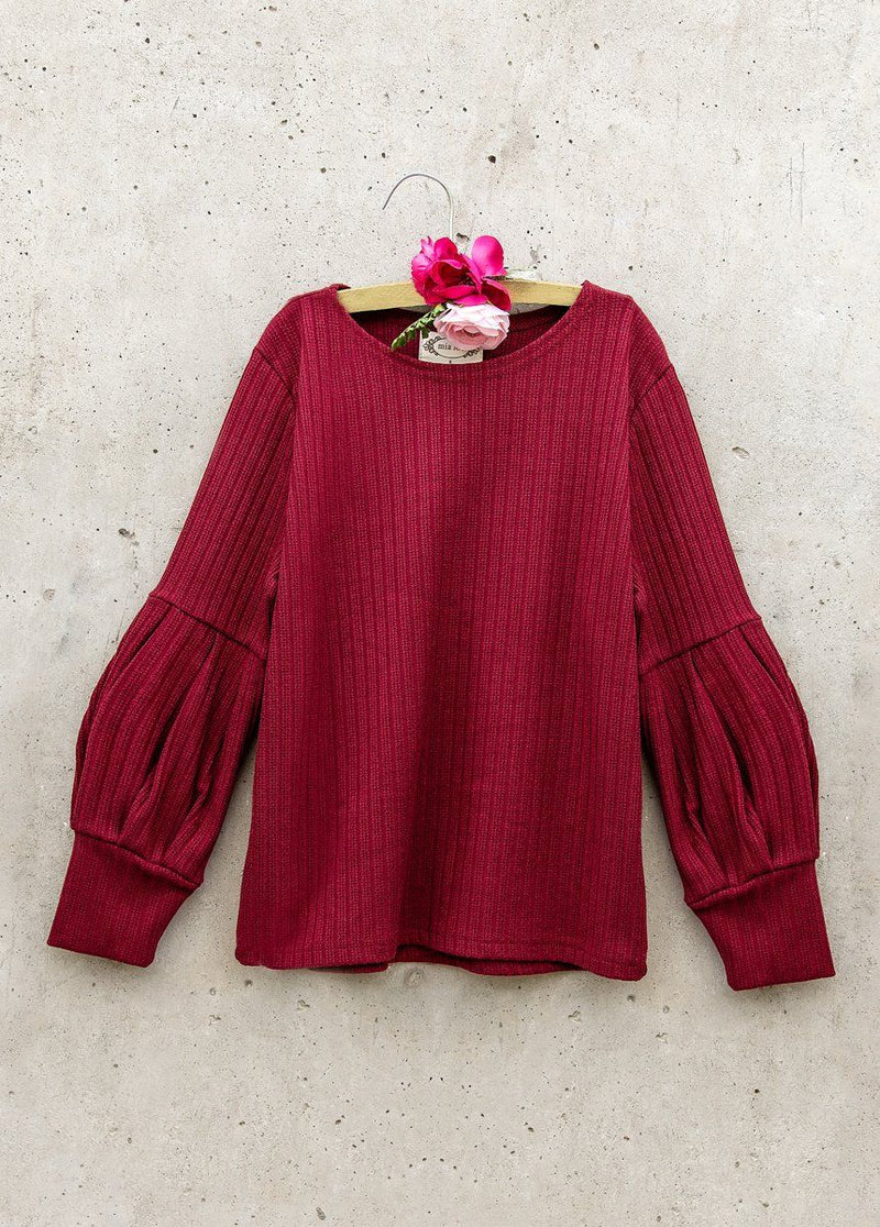 *NEW* Bailey Sweater in Burgundy