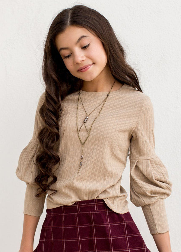 *NEW* Bailey Sweater in Taupe
