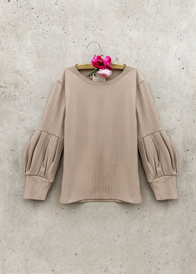 Bailey Sweater in Taupe