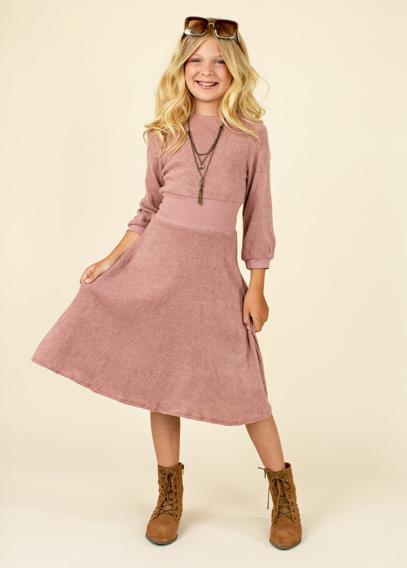 *NEW* Bethenny Dress in Dusty Orchid