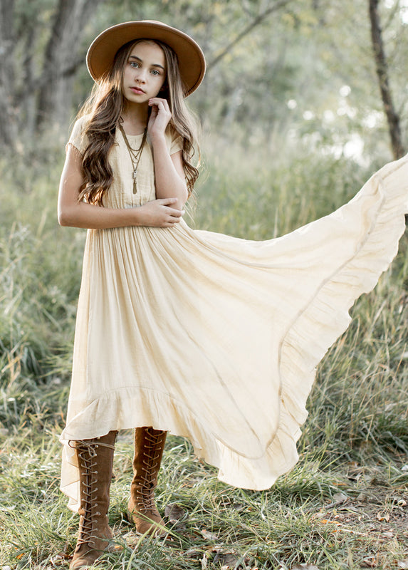 *NEW* Briley Dress in Cream