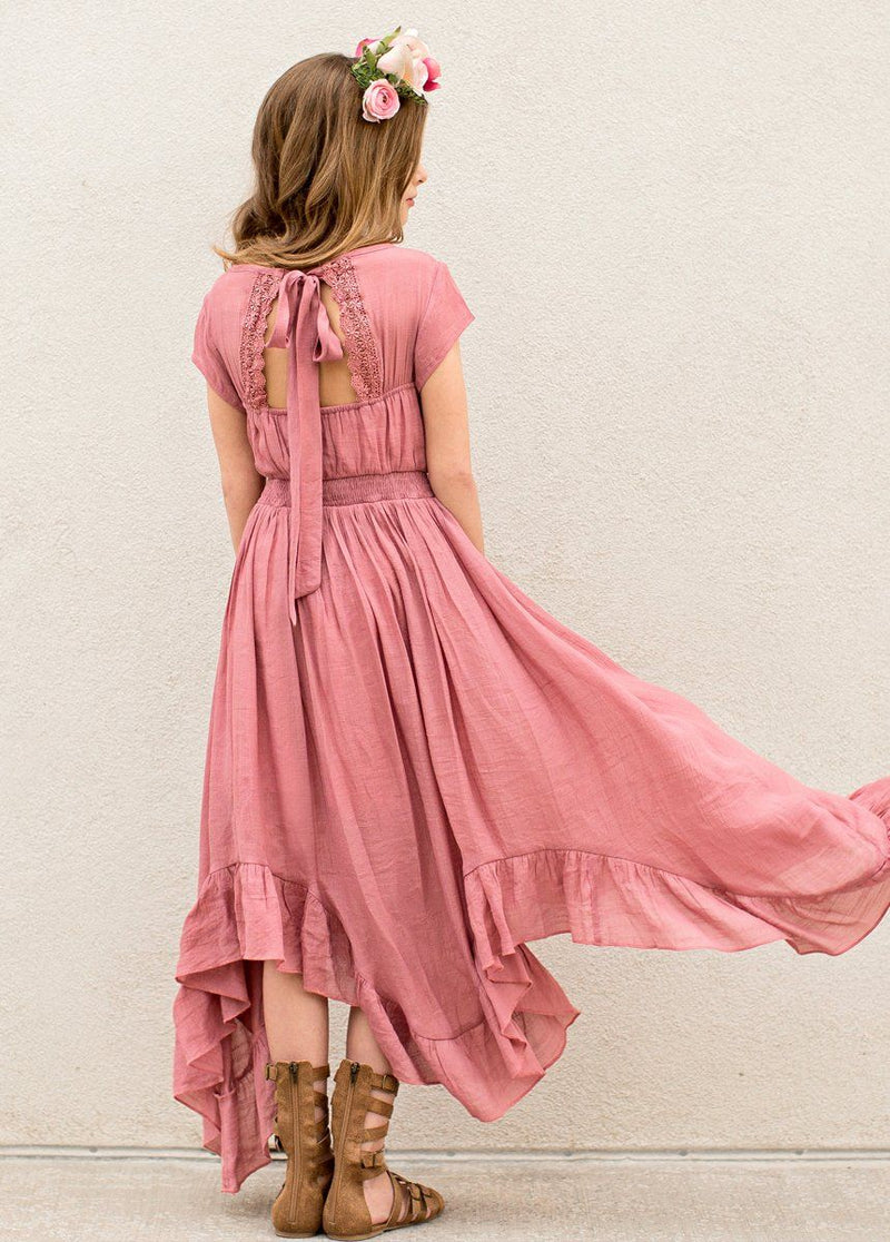 *NEW* Briley Dress in Dusty Rose