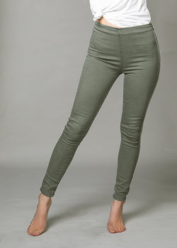 *NEW* Brytny High-Waisted Denim in Ivy Green