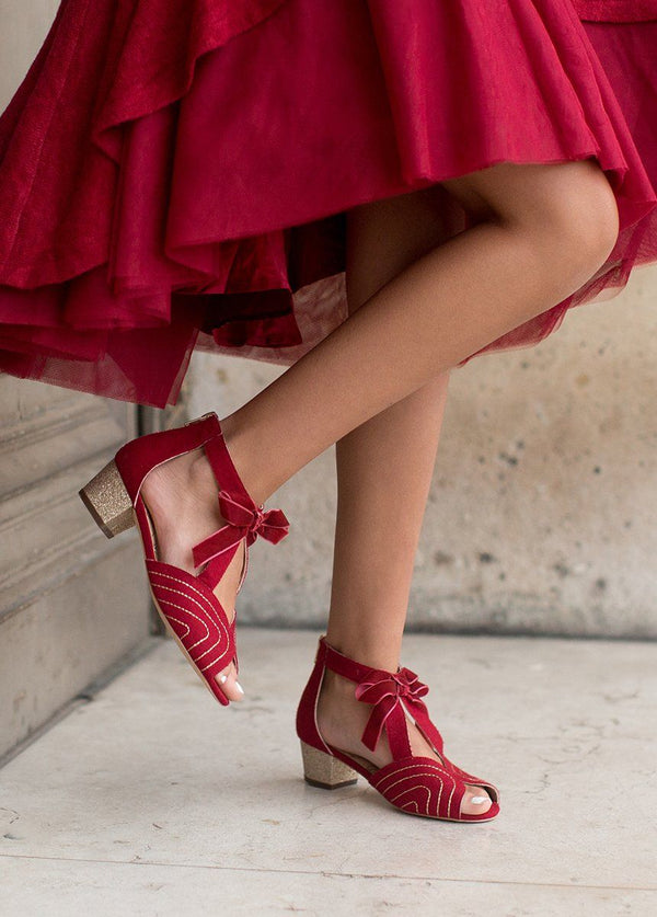 *NEW* Cailyn Shoe in Scarlet
