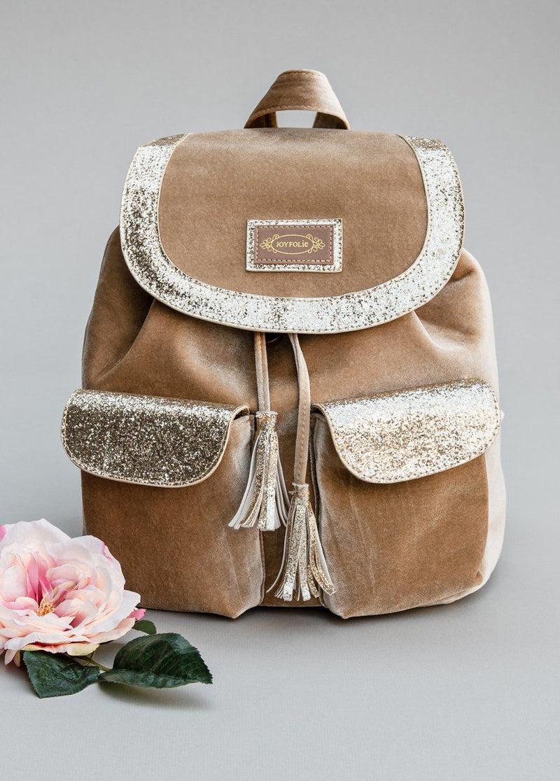 Carter Backpack in Gold
