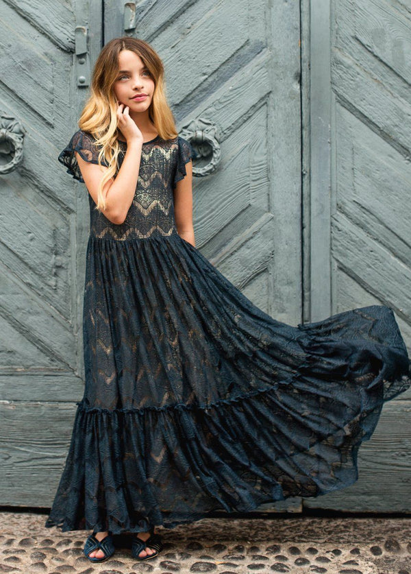 *NEW* Corinna Dress in Midnight